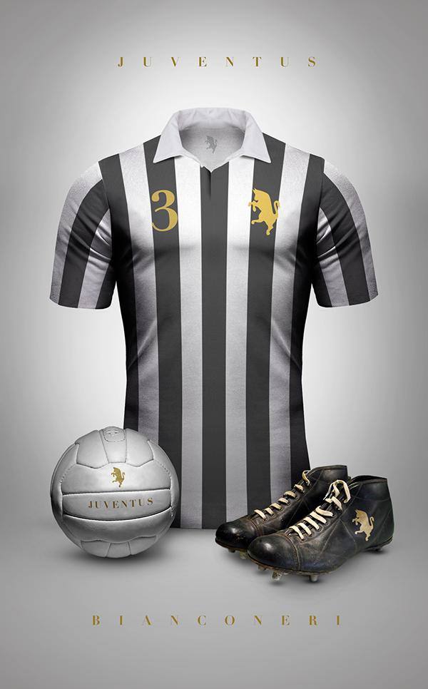 Ele reúne nada menos que 76 camisas dos principais clubes de futebol do  mundo 53c2b184572d3