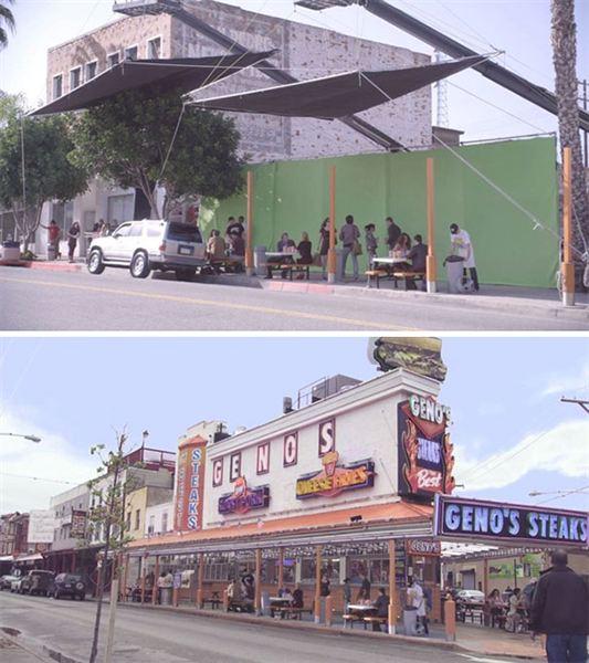 40 imagens de filmes e séries antes e depois dos efeitos especiais 17