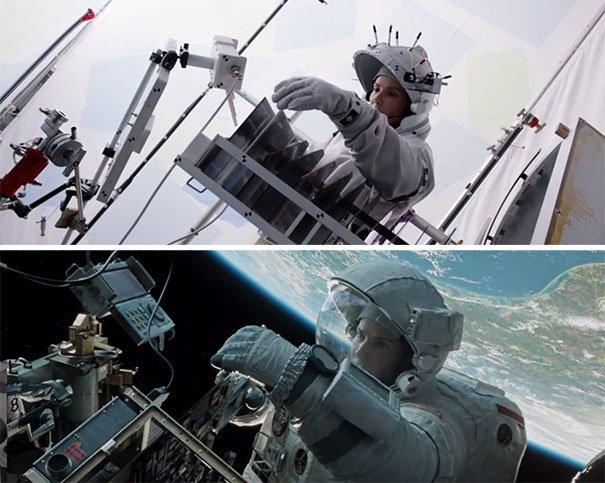 40 imagens de filmes e séries antes e depois dos efeitos especiais 32