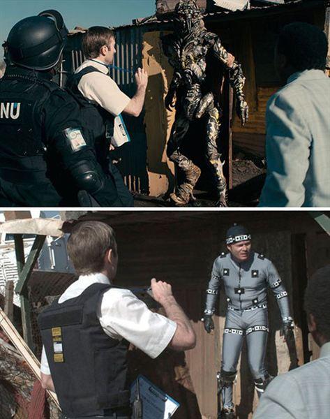 40 imagens de filmes e séries antes e depois dos efeitos especiais 47
