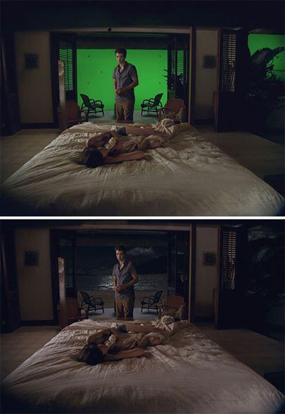 40 imagens de filmes e séries antes e depois dos efeitos especiais 50