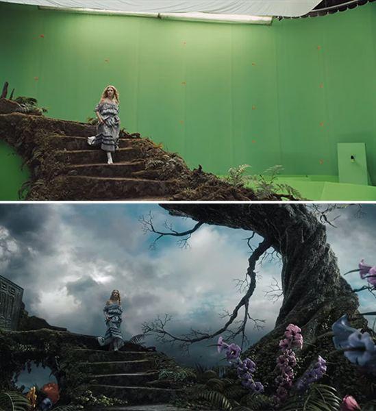 40 imagens de filmes e séries antes e depois dos efeitos especiais 52