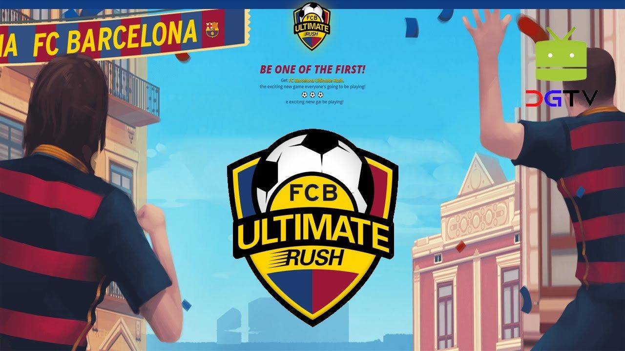 Corra pelas ruas de Barcelona no 'FCB Ultimate Rush' 13
