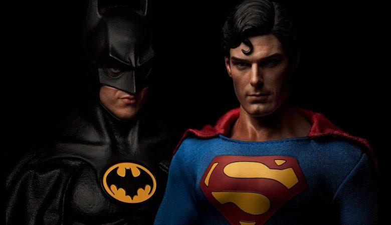 'Batman vs Superman' com Michael Keaton e Christopher Reeve