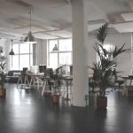 Decoração para um ambiente corporativo