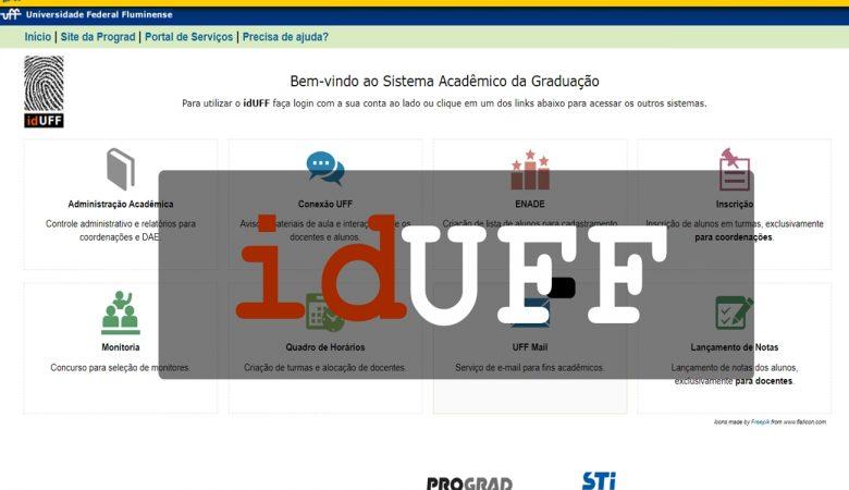Acessar o site IDUFF