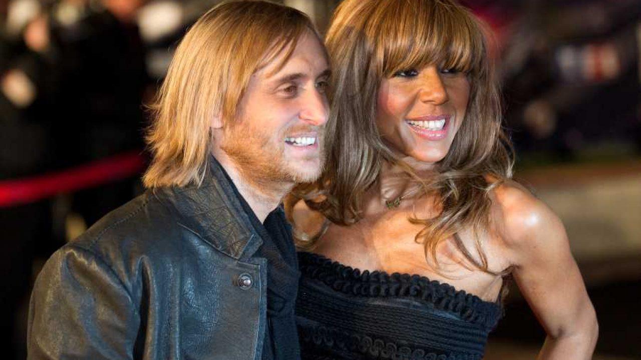 David e sua ex-mulher Cathy em evento