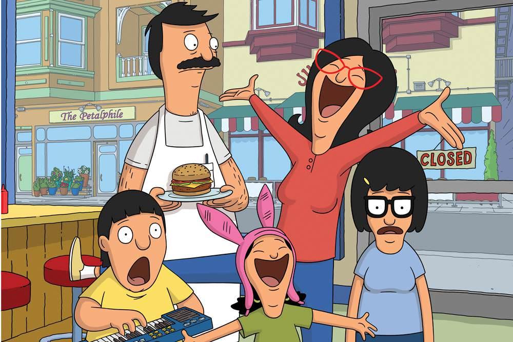 Desenho Bob's Burgers