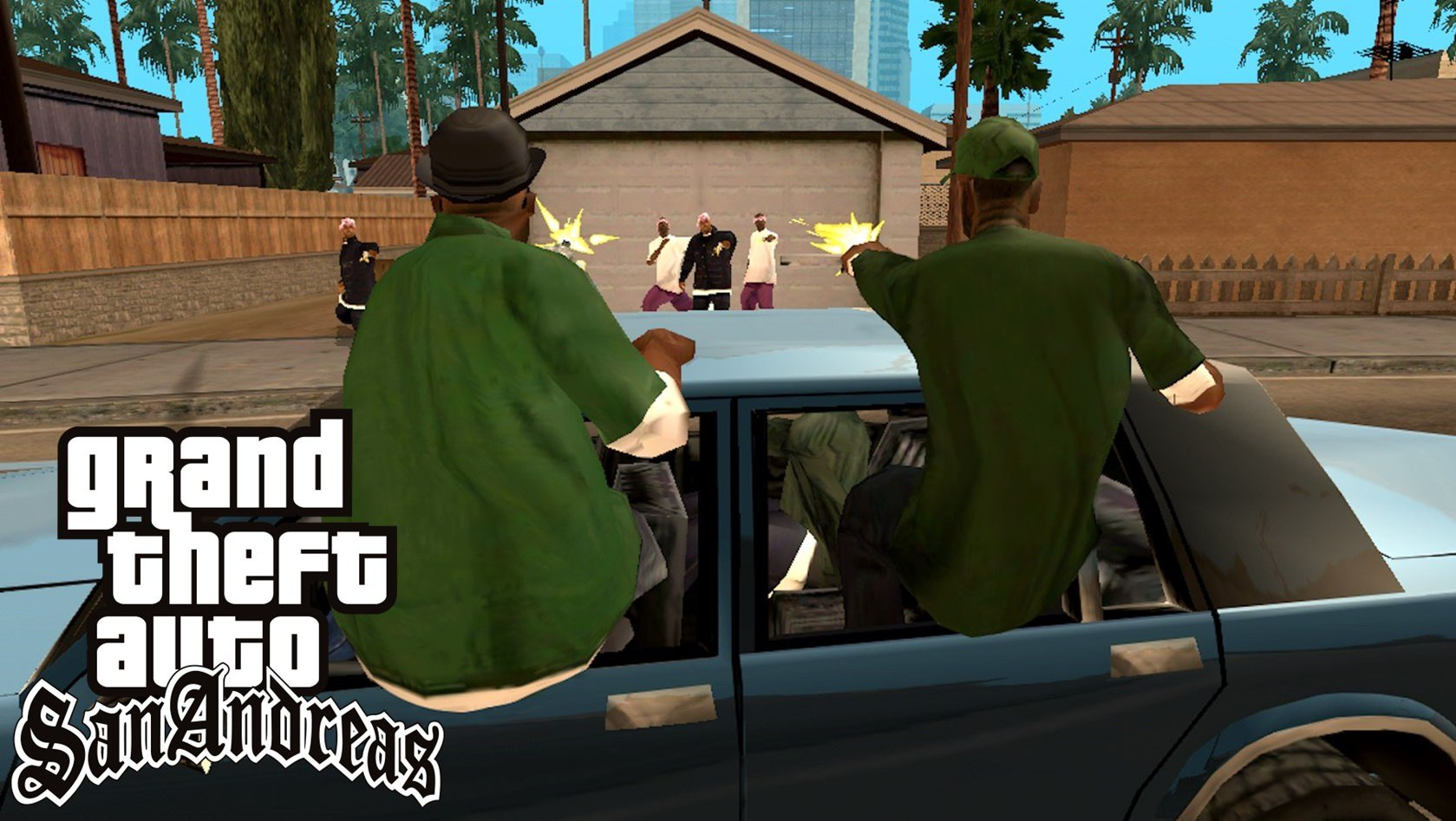 Jogo Grand Theft Auto San Andreas
