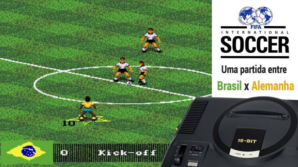 Jogo de futebol FIFA 94