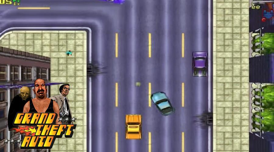 Jogo Grand Thef Auto - 1997