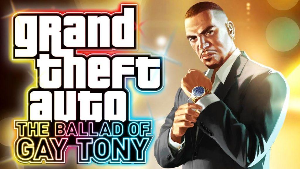 Jogo Grand Theft Auto IV The Balled of Gay Tony