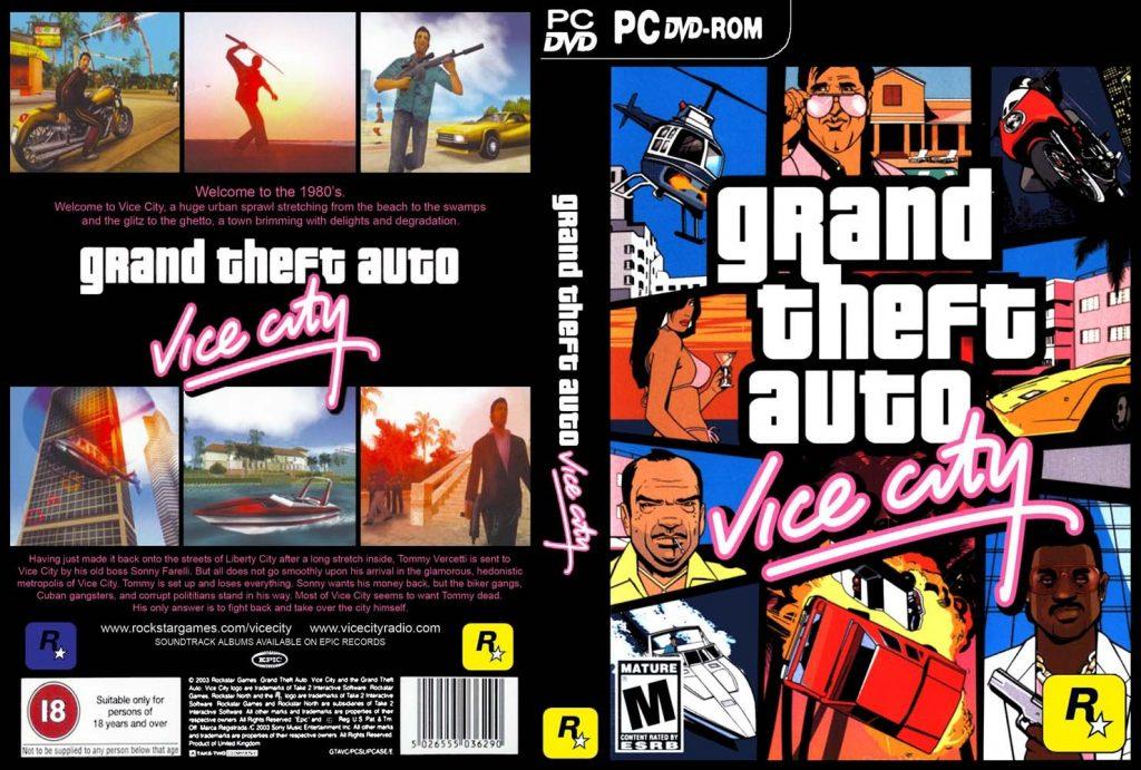Jogo Grand Theft Auto Vice City