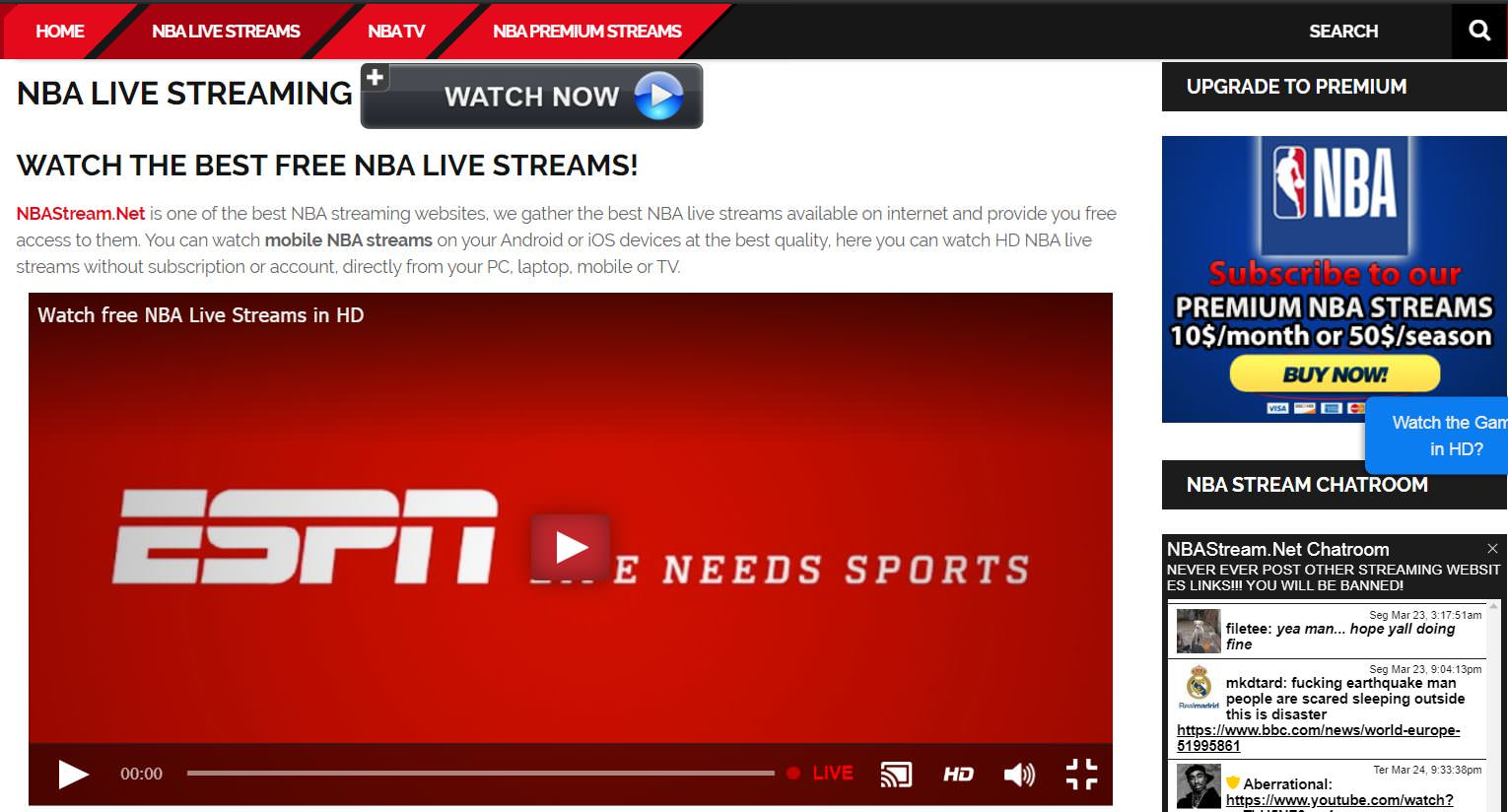 Site NBA Stream