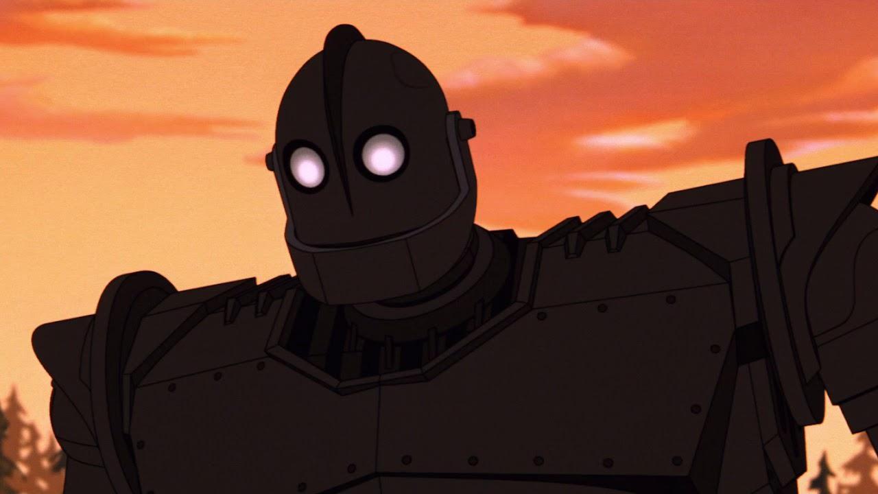 Filme O Gigante de Ferro (1999)