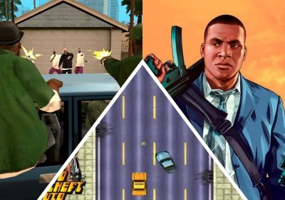 Todas as versões de GTA (Grand Theft Auto)
