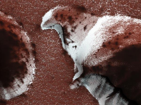 Marte congelado