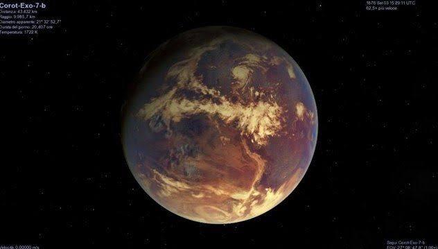 7 Planetas que não gostaríamos de Vistar Nunca 34