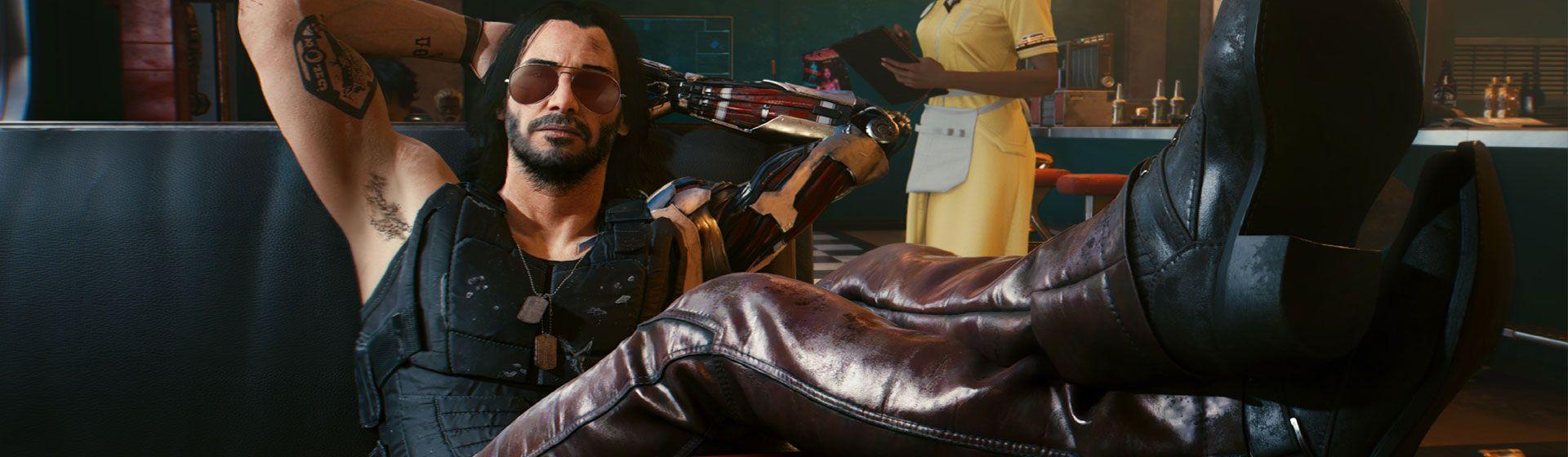 Keanu Reeves estrelando: 'Cyberpunk 2077' 10