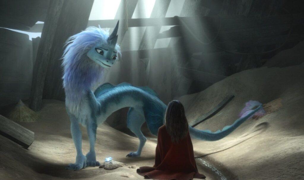 'Raya' da Disney oferece um tipo diferente de dragão cinematográfico 16