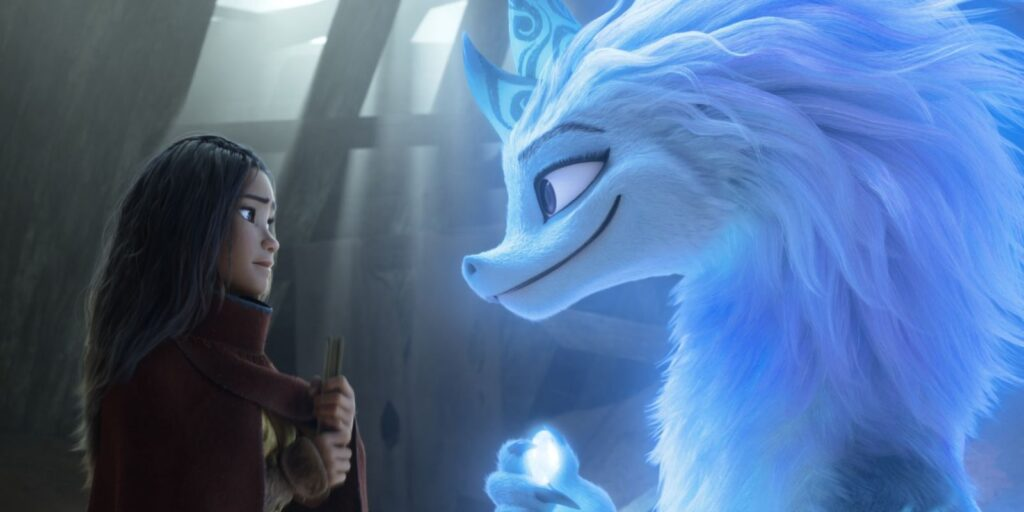 'Raya' da Disney oferece um tipo diferente de dragão cinematográfico 12