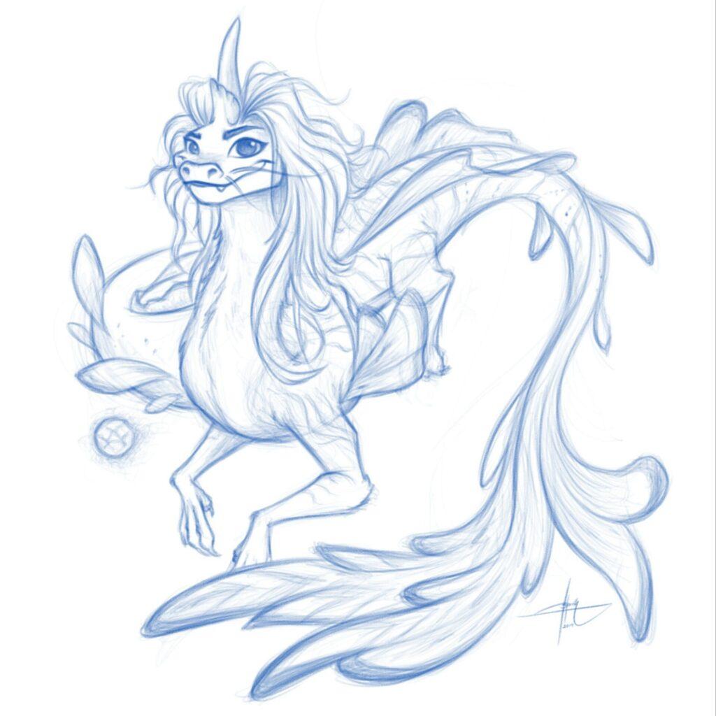 'Raya' da Disney oferece um tipo diferente de dragão cinematográfico 13