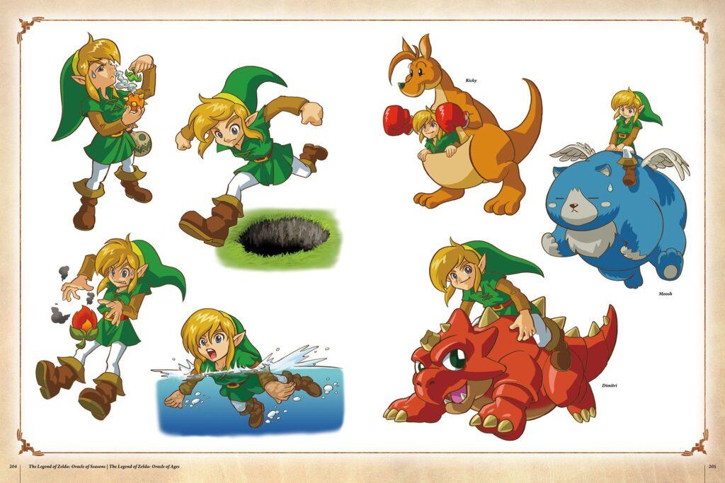 Link: A história dos companheiros em Legend of Allies 32