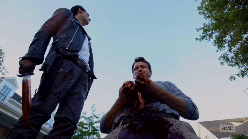 Negan : Redenção; O grande mal de De The Walking Dead, um herói simpático 22