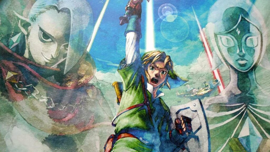 Link: A história dos companheiros em Legend of Allies 40