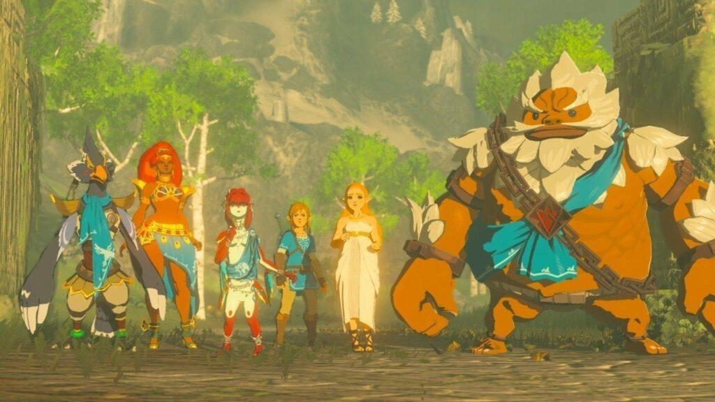 Link: A história dos companheiros em Legend of Allies 41