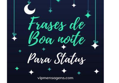 Frases de boa noite para status
