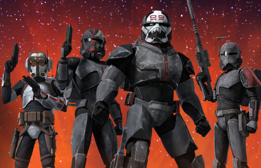 Soldados Clones e Stormtroopers: 'The Bad Batch' 11