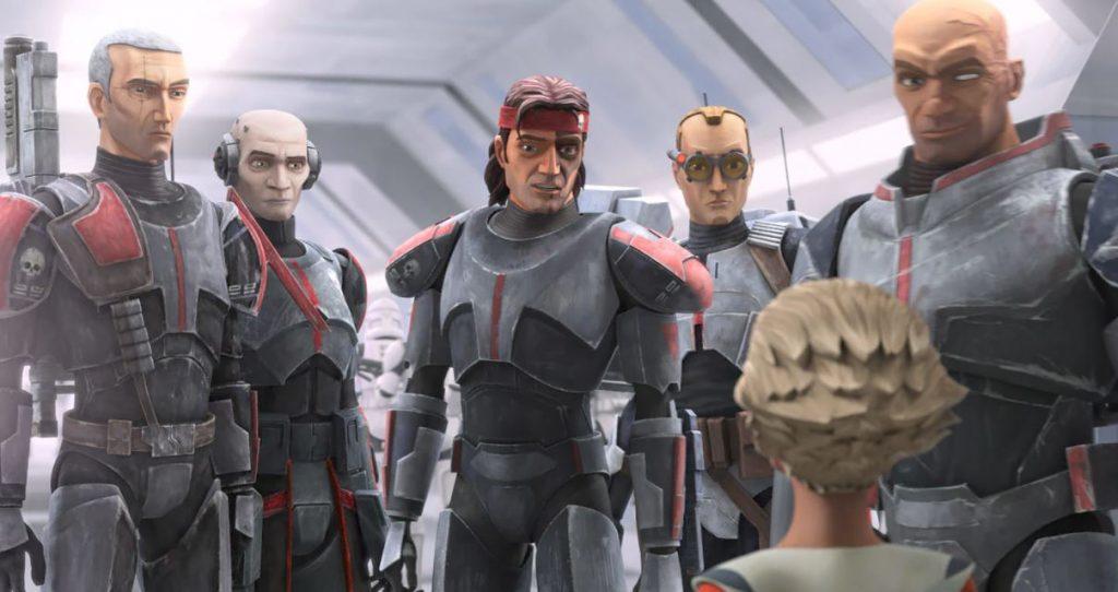 Soldados Clones e Stormtroopers: 'The Bad Batch' 10