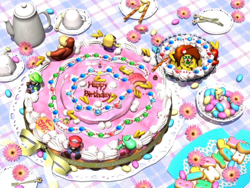 Mario e a deliciosa evolução de seus bolos 27
