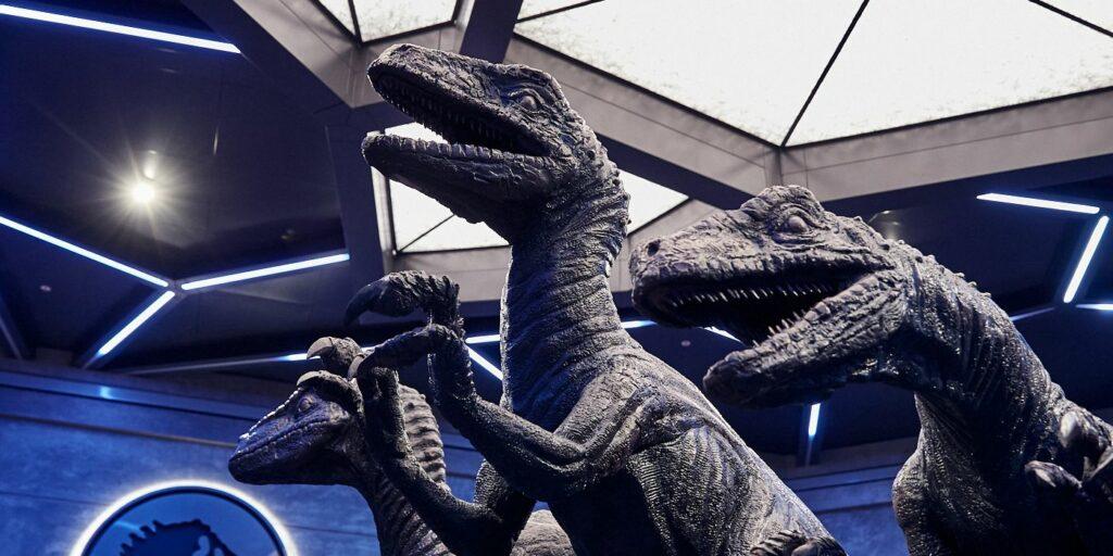 Jurassic: VelociCoaster da Universal 16