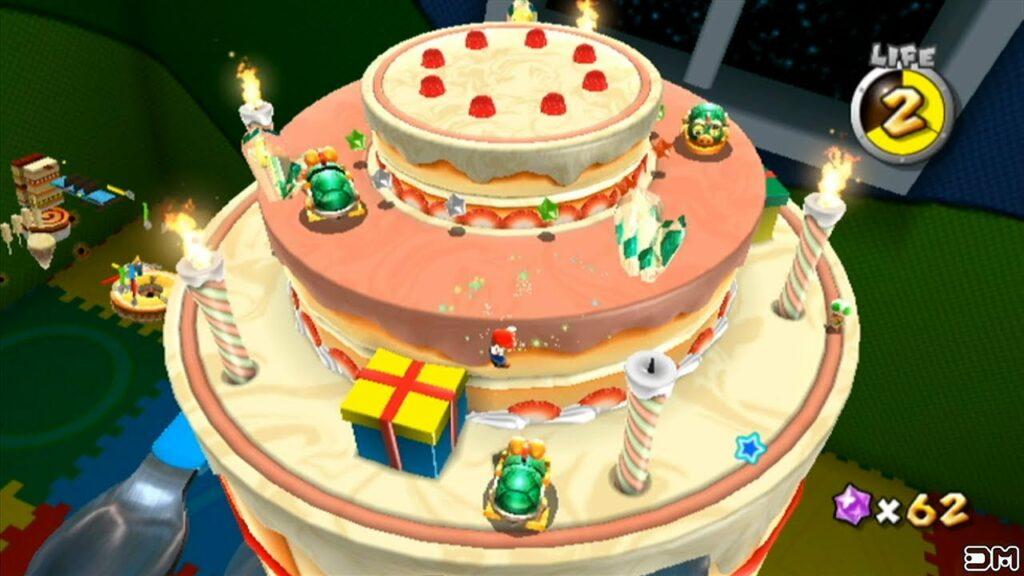 Mario e a deliciosa evolução de seus bolos 28
