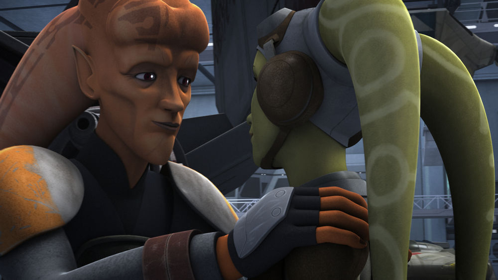 Hera Syndulla preenche a lacuna entre 'The Bad Batch' e 'Star Wars Rebels': 12