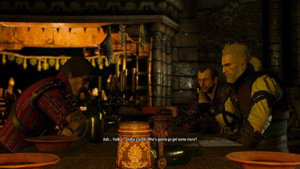 Geralt: quanto um bruxo pode realmente beber [The Witcher 3]? 3