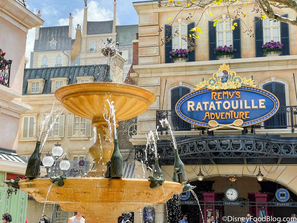 'Ratatouille (inauguração 1 de outubro de 2021') na Disney World 16