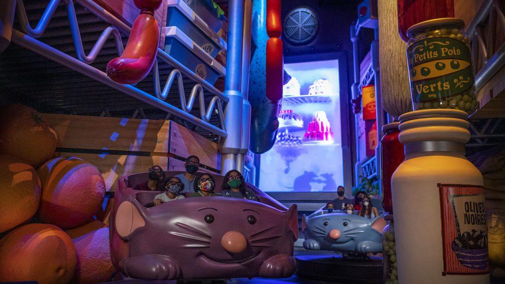 'Ratatouille (inauguração 1 de outubro de 2021') na Disney World 12