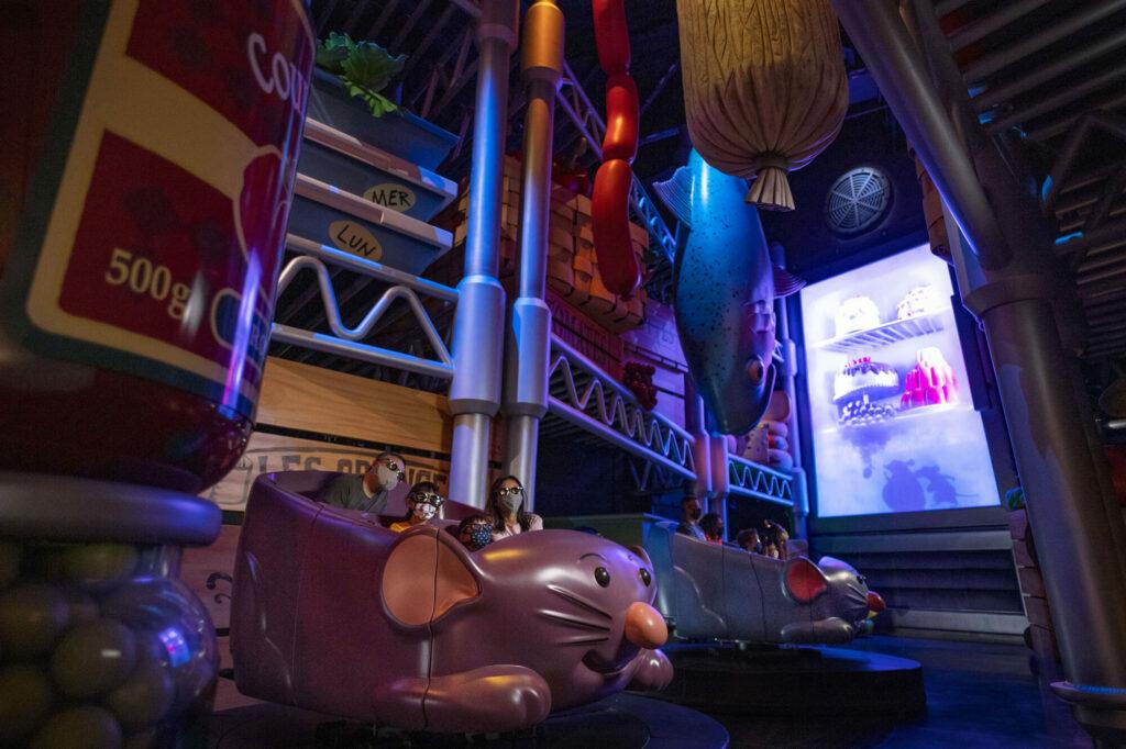 'Ratatouille (inauguração 1 de outubro de 2021') na Disney World 14